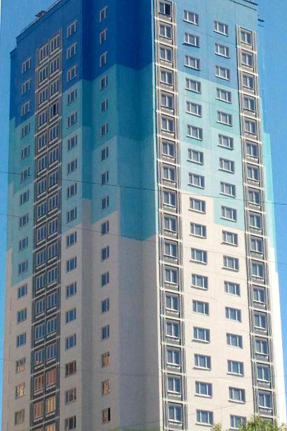 В подмосковном Одинцове построили дом на 156 квартир
