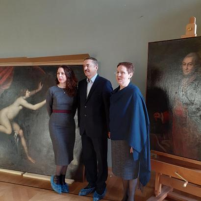Компания «Кнауф» поддержала реставрацию шедевров искусства в музее-усадьбе «Архангельское»