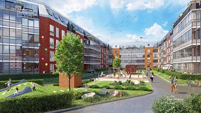 Банк профинансирует на 9,4 млрд рублей строительство жилого квартала в Петербурге