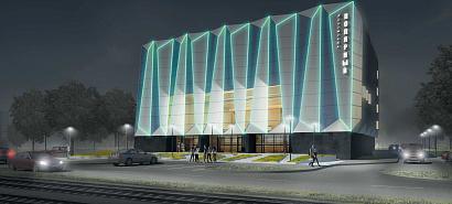 Кинотеатр «Полярный» в Москве превратится в многофункциональный киноцентр в виде айсберга