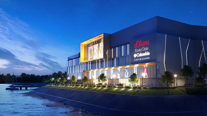 На набережной реки Амур в Хабаровске построят торговый центр