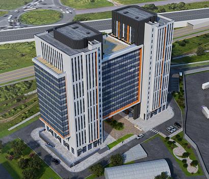 В Химках построят отель с офисами в форме буквы Н