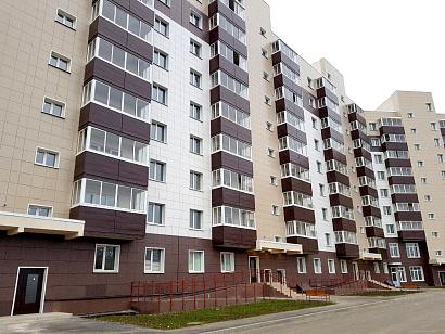 В подмосковном Клину построили жилой дом на 258 квартир