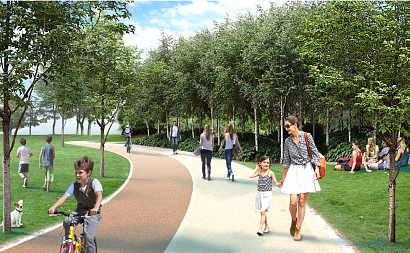 В Москве на месте бывшей территории Тушинского аэродрома появится парк