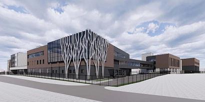 В Щербинке построят школу с декоративными элементами