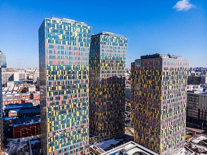 В центре Москвы достроили проблемную жилую башню