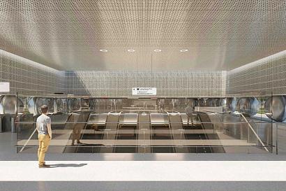 Самый длинный эскалатор в Москве будет на станции «Марьина Роща»