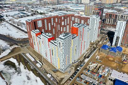 В Новой Москве построили жилой дом бизнес-класса на тысячи квартир